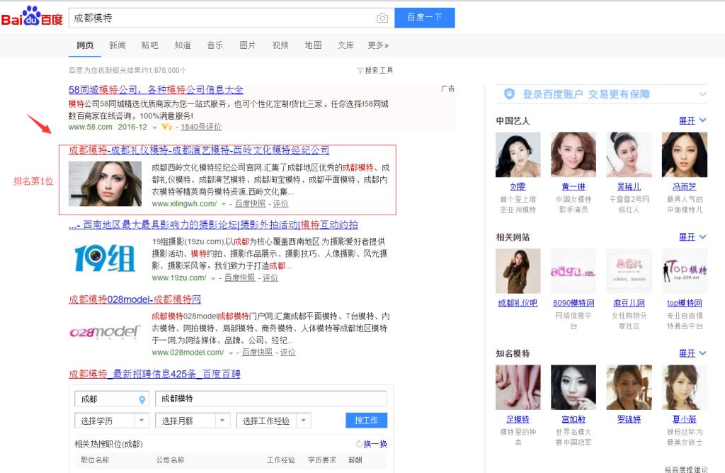 成都西岭文化官网SEO优化排名